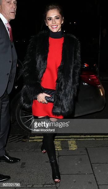 Cheryl FernandezVersini at Sexy Fish on December 21 2015 in London England