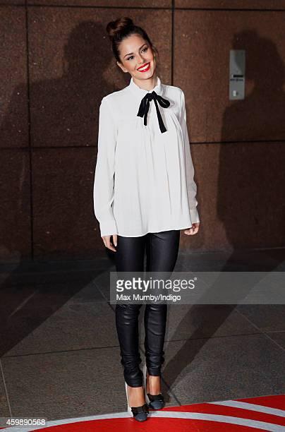 Cheryl Fernandez-Versini attends the annual ICAP Charity Day at ICAP on December 3, 2014 in London, England.
