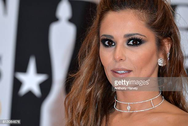 Cheryl FernandezVersini attends the BRIT Awards 2016 at The O2 Arena on February 24 2016 in London England