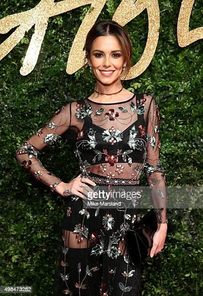 Cheryl FernandezVersini attends the British Fashion Awards 2015 at London Coliseum on November 23 2015 in London England