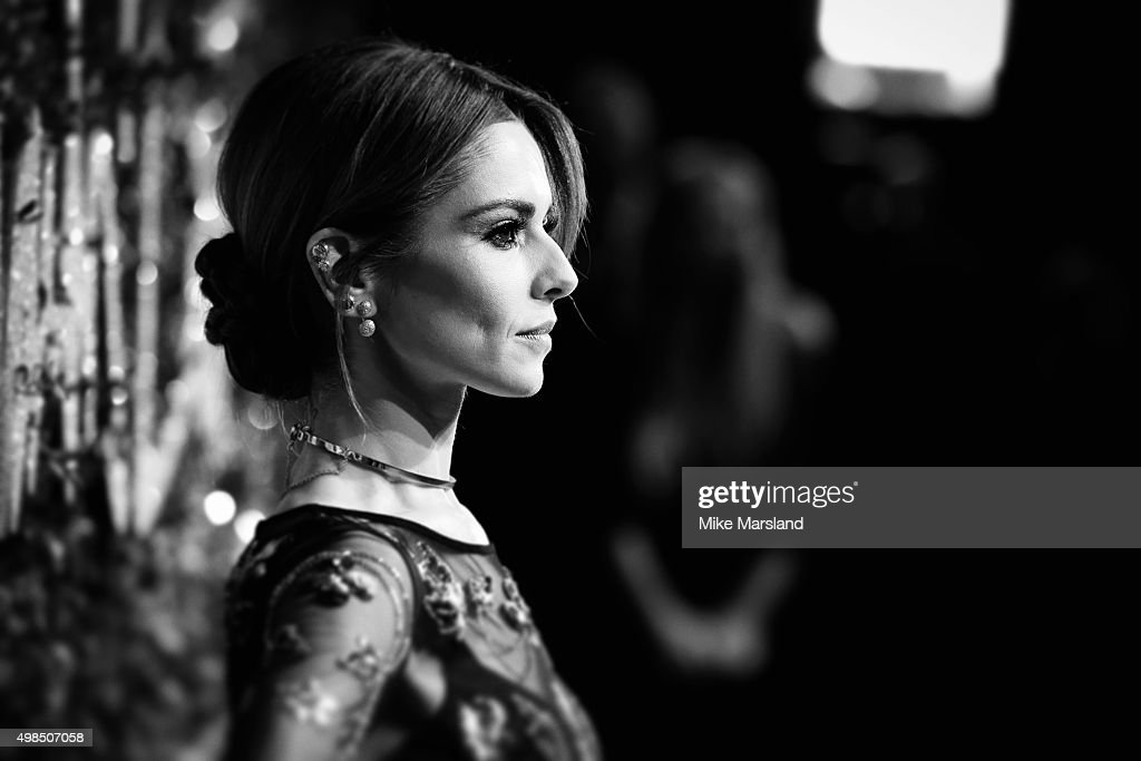 Cheryl Fernandez-Versini attends the British Fashion Awards 2015 at London Coliseum on November 23, 2015 in London, England.