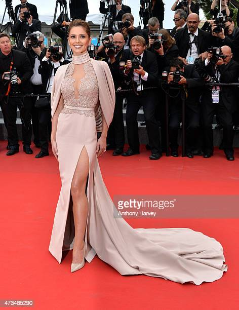 Cheryl FernandezVersini attends the 'Irrational Man' premiere during the 68th annual Cannes Film Festival on May 15 2015 in Cannes France