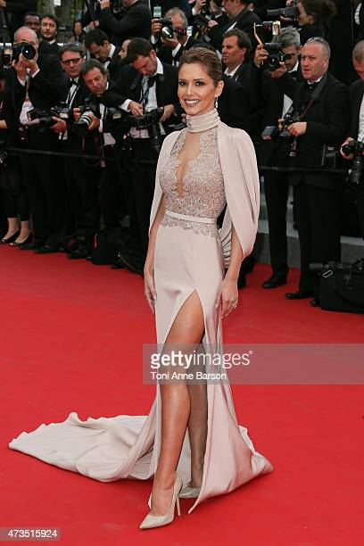 Cheryl FernandezVersini attends the Irrational Man premiere during the 68th annual Cannes Film Festival on May 15 2015 in Cannes France