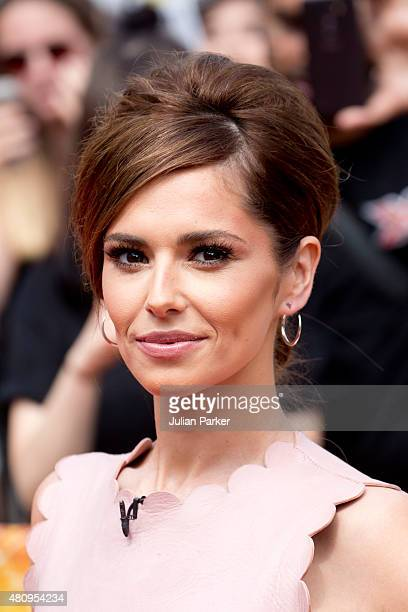Cheryl FernandezVersini attends the London auditions of The X Factor at SSE Arena on July 16 2015 in Wembley England