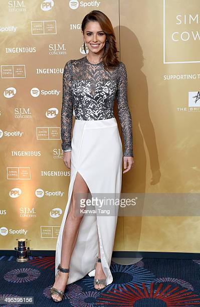 Cheryl FernandezVersini attends the Music Industry Trusts Awards in aid of the Nordoff Robbins charity and BRIT Trust at The Grosvenor House Hotel on...