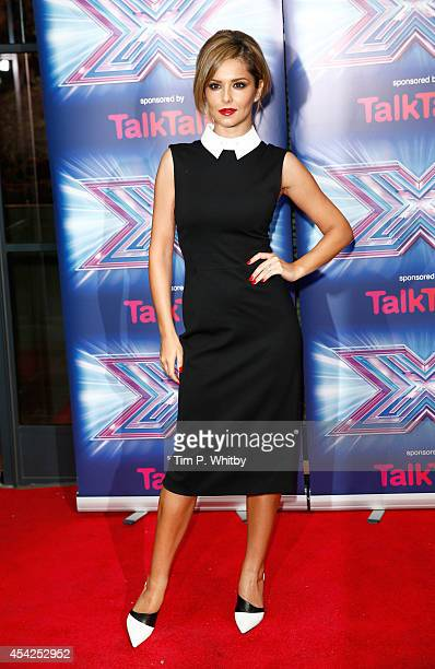 Cheryl FernandezVersini attends the press launch for the new series of The X Factor at Ham Yard Hotel on August 27 2014 in London England