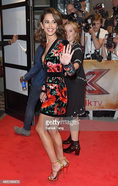 Cheryl FernandezVersini attends the press launch of 'The X Factor' at the Picturehouse Central on August 26 2015 in London England