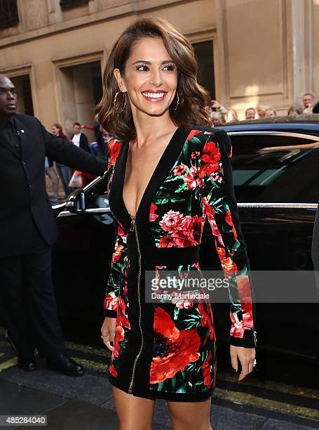 Cheryl FernandezVersini attends the press launch of The X Factor on August 26 2015 in London England
