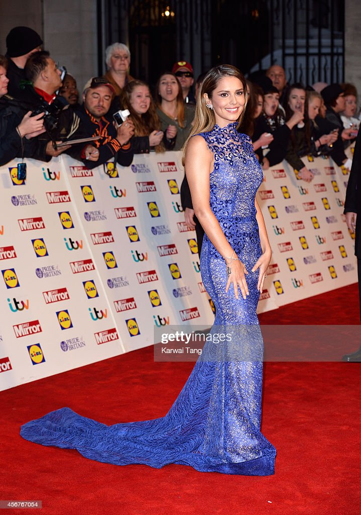 Cheryl Fernandez-Versini attends the Pride of Britain awards at The Grosvenor House Hotel on October 6, 2014 in London, England.