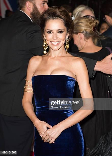 Cheryl FernandezVersini attends the Pride of Britain awards at The Grosvenor House Hotel on September 28 2015 in London England