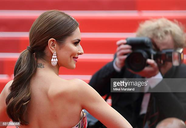 Cheryl FernandezVersini attends the screening of 'Slack Bay ' at the annual 69th Cannes Film Festival at Palais des Festivals on May 13 2016 in...