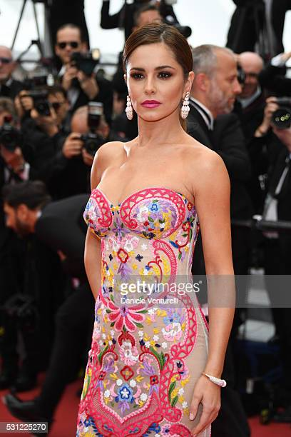 Cheryl FernandezVersini attends the 'Slack Bay ' premiere during the 69th annual Cannes Film Festival at the Palais des Festivals on May 13 2016 in...