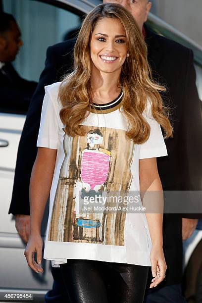 Cheryl FernandezVersini sighted arriving at the BBC Radio 1 Studios on October 7 2014 in London England Photo by Neil Mockford/Alex Huckle/GC Images