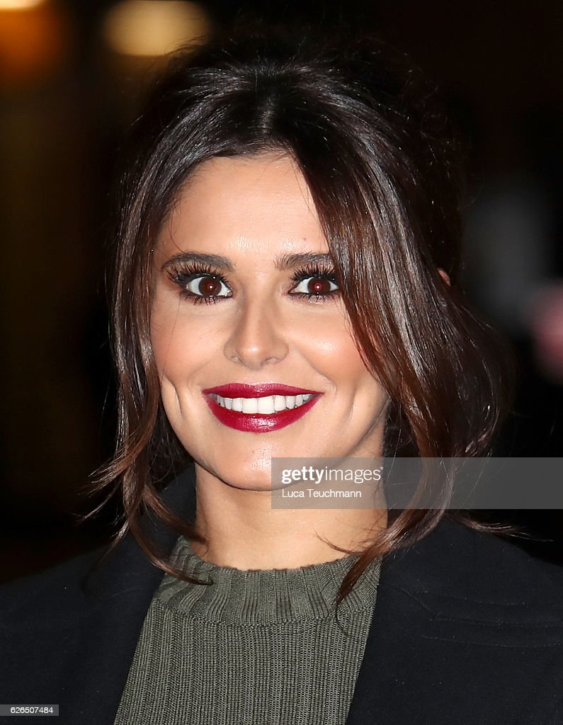 Cheryl Switches On The St James' Church Christmas Lights