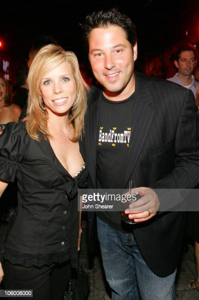 Cheryl Hines and Greg Grunberg during Entertainment Weekly Magazine 4th Annual Pre-Emmy Party - Inside at Republic in Los Angeles, California, United...