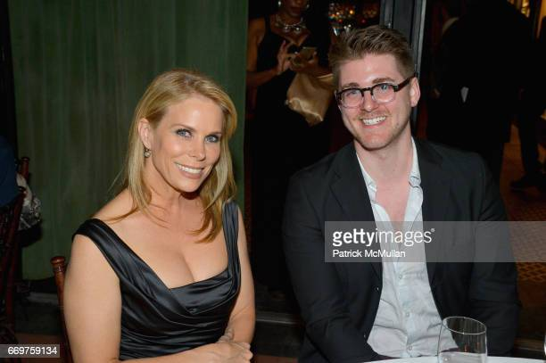 Cheryl Hines and guest attend The Turtle Conservancy's 4th Annual Turtle Ball at The Bowery Hotel on April 17 2017 in New York City