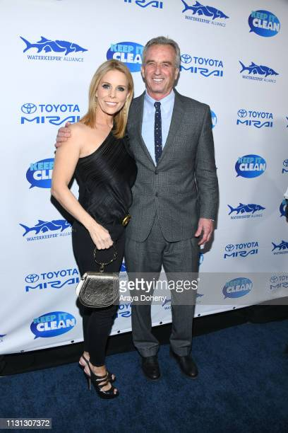 Cheryl Hines and Robert F Kennedy Jr at 5th Annual Keep It Clean Live Comedy Benefit For Waterkeeper Alliance at Largo At The Coronet on February 21...