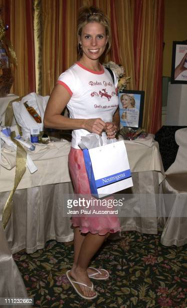 Cheryl Hines at the Neutrogena table during HBO Golden Globes Luxury Lounge Produced By Mediaplacement at The Peninsula Hotel in Beverly Hills...