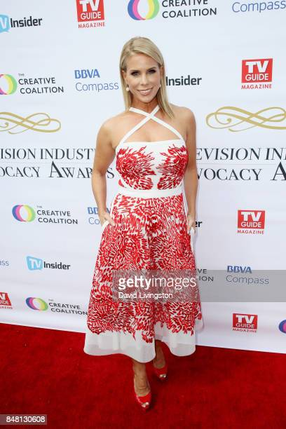 Cheryl Hines at the Television Industry Advocacy Awards at TAO Hollywood on September 16 2017 in Los Angeles California
