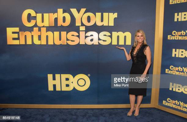 Cheryl Hines attends the Curb Your Enthusiasm season 9 premiere at SVA Theater on September 27 2017 in New York City