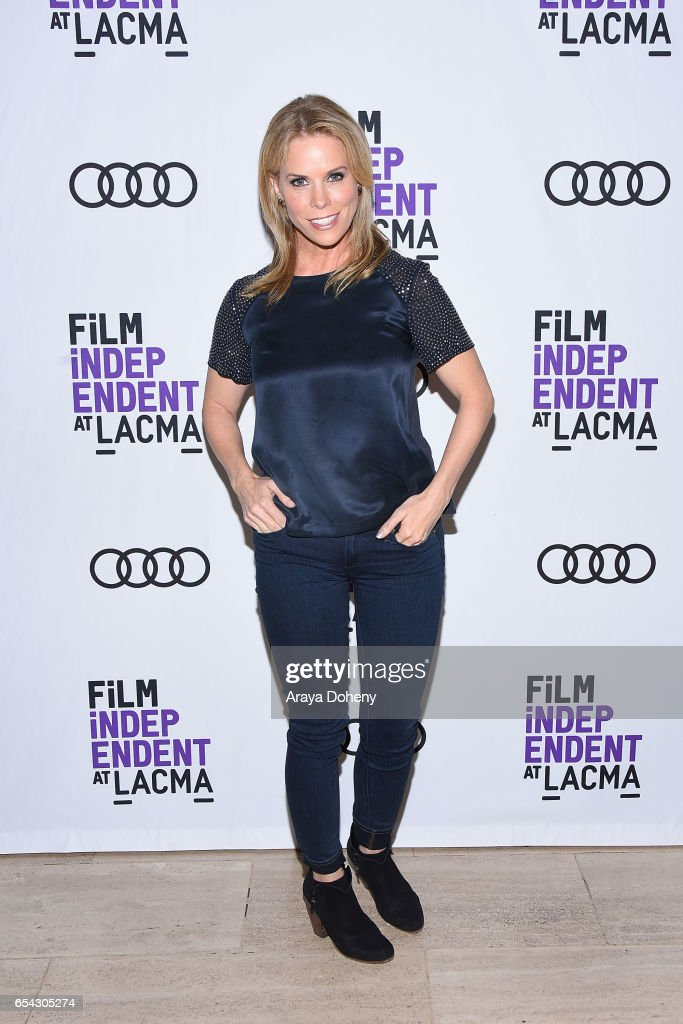 Cheryl Hines attends the Film Independent at LACMA Screening and Q&A of 'Wilson' at Bing Theatre At LACMA on March 16, 2017 in Los Angeles, California.