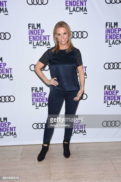 Cheryl Hines attends the Film Independent at LACMA Screening and QA of 'Wilson' at Bing Theatre At LACMA on March 16 2017 in Los Angeles California