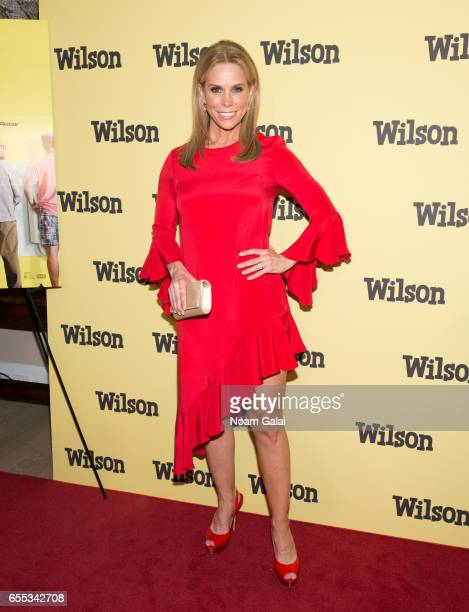 Cheryl Hines attends the 'Wilson' New York screening at the Whitby Hotel on March 19 2017 in New York City