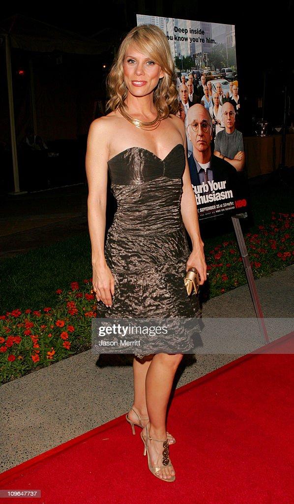 """Curb Your Enthusiasm"" Season 5 Premiere Screening - Red Carpet : News Photo"