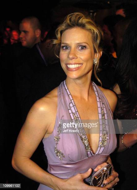 Cheryl Hines during HBO Golden Globe Awards Party Inside at Beverly Hills Hilton in Beverly Hills California United States