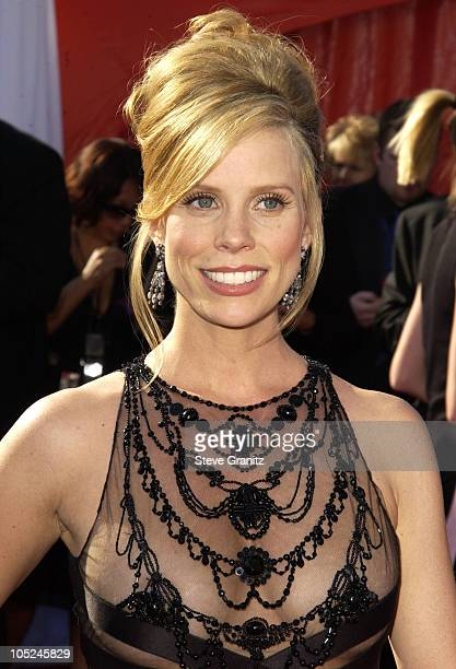 Cheryl Hines during The 55th Annual Primetime Emmy Awards Arrivals at The Shrine Theater in Los Angeles California United States