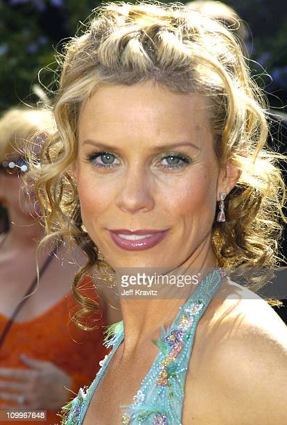 Cheryl Hines during The 56th Annual Primetime Emmy Awards Red Carpet at The Shrine Auditorium in Los Angeles California United States