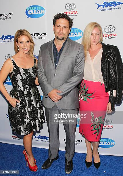 Cheryl Hines Jeremy Sisto and Addie Lane attend Waterkeeper Alliance's Keep It Clean event an evening of comedy at the Avalon on April 22 2015 in...
