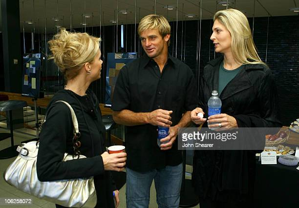 Cheryl Hines Laird Hamilton and Gabrielle Reece during GM Style Celebrity Fittings at GM Design Center at Color Studio at GM Design Center in Detroit...