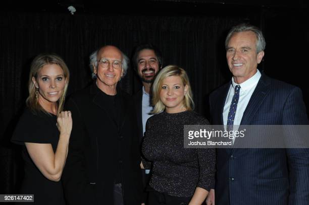 Cheryl Hines Larry David Ray Romano Guest and Robert Kennedy Jr attend Keep It Clean To Benefit Waterkeeper Alliance on March 1 2018 in Los Angeles...