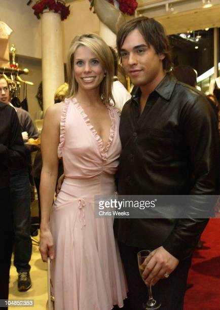 Cheryl Hines Oren Shepher during Opening of O Boutique at O Boutique in West Hollywood California United States