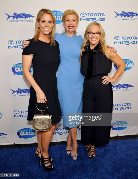 Cheryl Hines Susan Yeagley and Rachael Harris attend Keep it Clean to benefit Waterkeeper Alliance on March 1 2018 in Los Angeles California