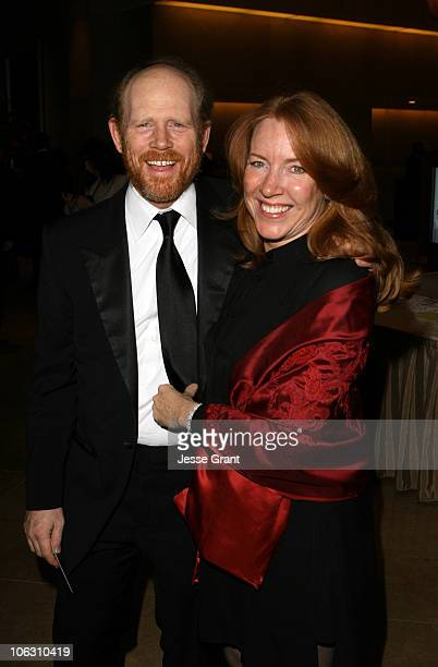 Cheryl Howard and Ron Howard during 56th Annual ACE Eddie Awards at The Beverly Hilton in Beverly Hills California United States