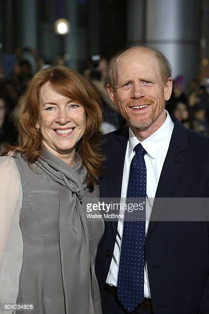 Cheryl Howard and Ron Howard during the 2013 Tiff Film Festival Gala Red Carpet Premiere for Rush at the Roy Thomson Theatre on September 8 2013 in...