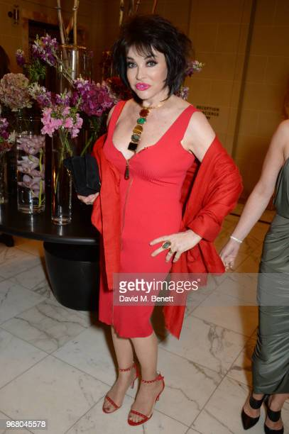 Cheryl Howard attends an after party following the UK Premiere of 'The Happy Prince' hosted by Justine Picardie editor of Harper's Bazaar at Cafe...