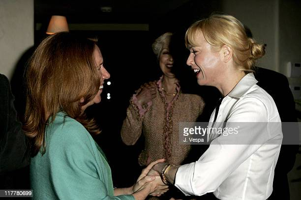 Cheryl Howard Crew and Renee Zellweger during Cheryl Howard Crew Celebrates Her New Book In The Face of Jinn at Private Residence in Pacific...