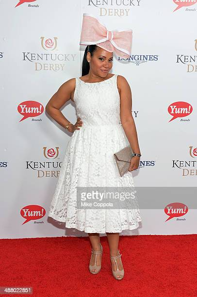 Cheryl James attends 140th Kentucky Derby at Churchill Downs on May 3 2014 in Louisville Kentucky