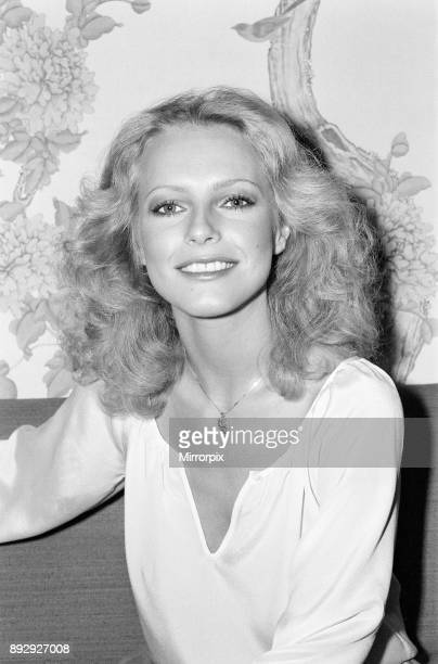 Cheryl Ladd american actress who plays Kris Munroe in television series Charlie's Angels pictured at the Berkeley Hotel Knightsbridge London 5th May...