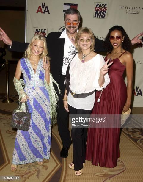 Cheryl Ladd, husband Brian Russell, & daughters Jordan Ladd & Lindsay Russell
