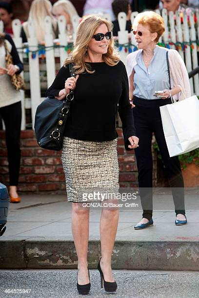 Cheryl Ladd is seen having lunch at The Ivy on January 22 2014 in Los Angeles California