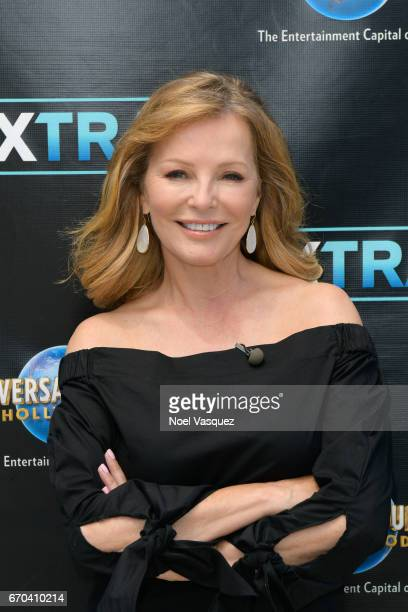 Cheryl Ladd visits Extra at Universal Studios Hollywood on April 19 2017 in Universal City California
