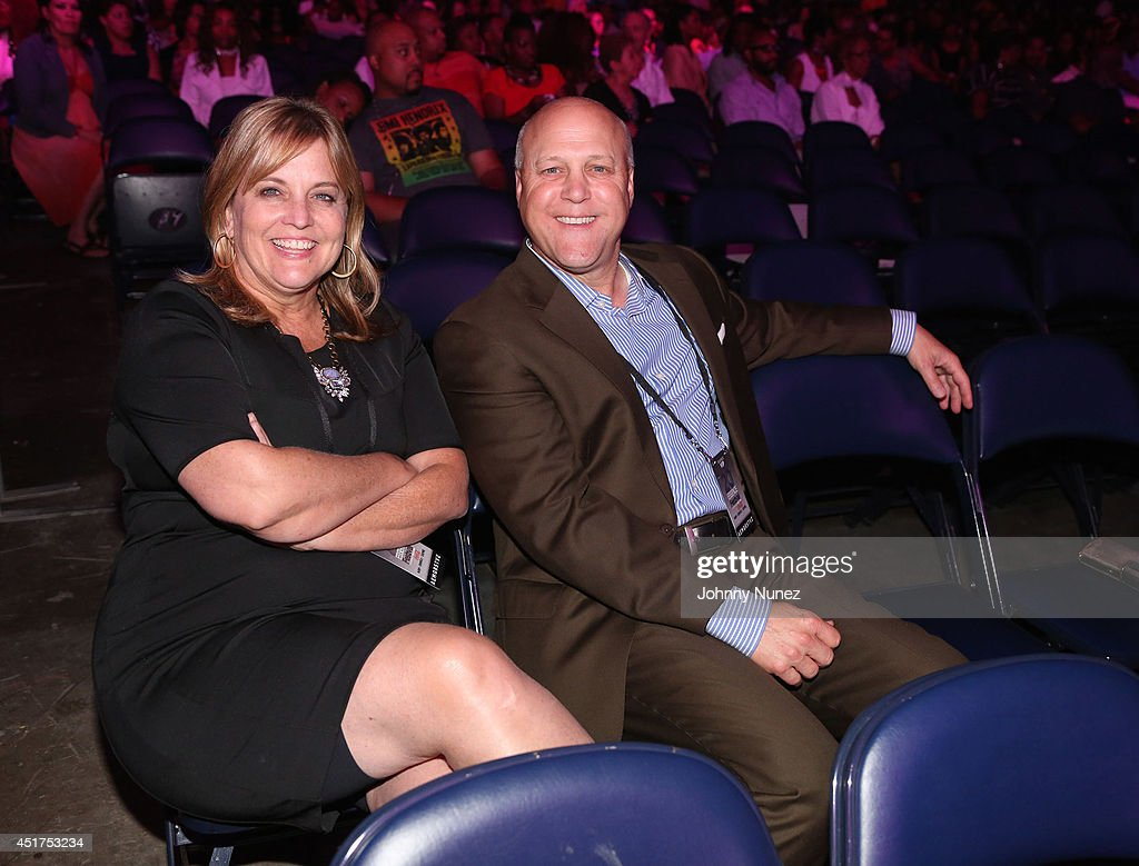 Cheryl Landrieu and Mitch Landrieu attend the 2014 Essence Music Festival on July 5, 2014 in New Orleans, Louisiana.