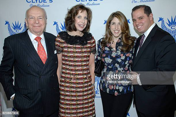 Cheryl Lefkovits, Albert Lefkovits, Jennifer Friedland and Rick Friedland attend CLYDE'S on Madison Celebrates the Launch of their 2008 Catalog at...
