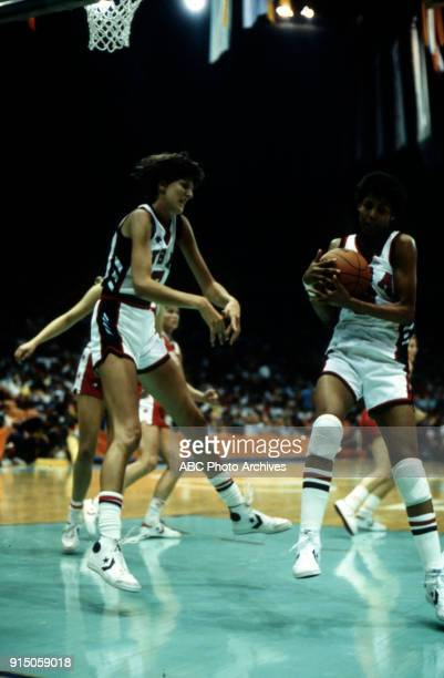 Cheryl Miller Women's basketball competition US vs Canada The Forum at the 1984 Summer Olympics August 5 1984