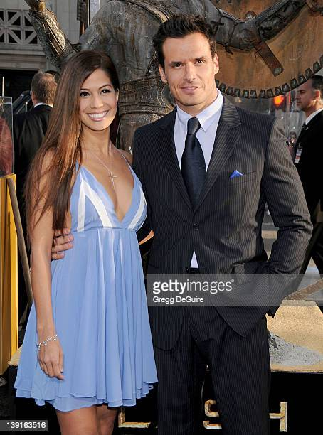 Cheryl Moana Marie and Antonio Sabato Jr arrive at the Los Angeles Premiere of Clash Of The Titans held at the Grauman's Chinese Theater on March 31...