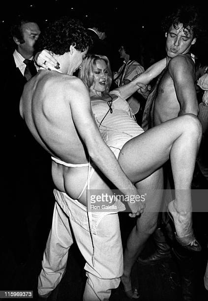 Cheryl Rixon attends Night Party on October 13 1978 at Xenon Disco in New York City
